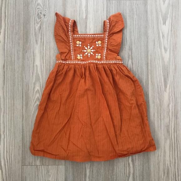 Gymboree orange dress